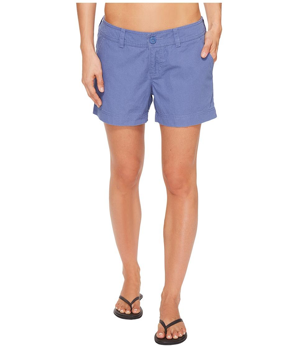 Columbia - Compass Ridge Shorts - 4 (Bluebell) Women's Shorts