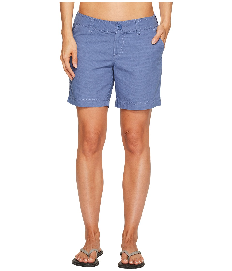 Columbia - Compass Ridge Shorts - 6 (Bluebell) Women's Shorts