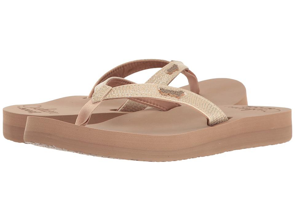 Reef - Star Cushion Sassy (Mocha) Women's Sandals