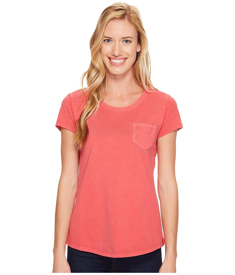 Woolrich - First Forks Short Sleeve Tee (Teaberry) Women's T Shirt