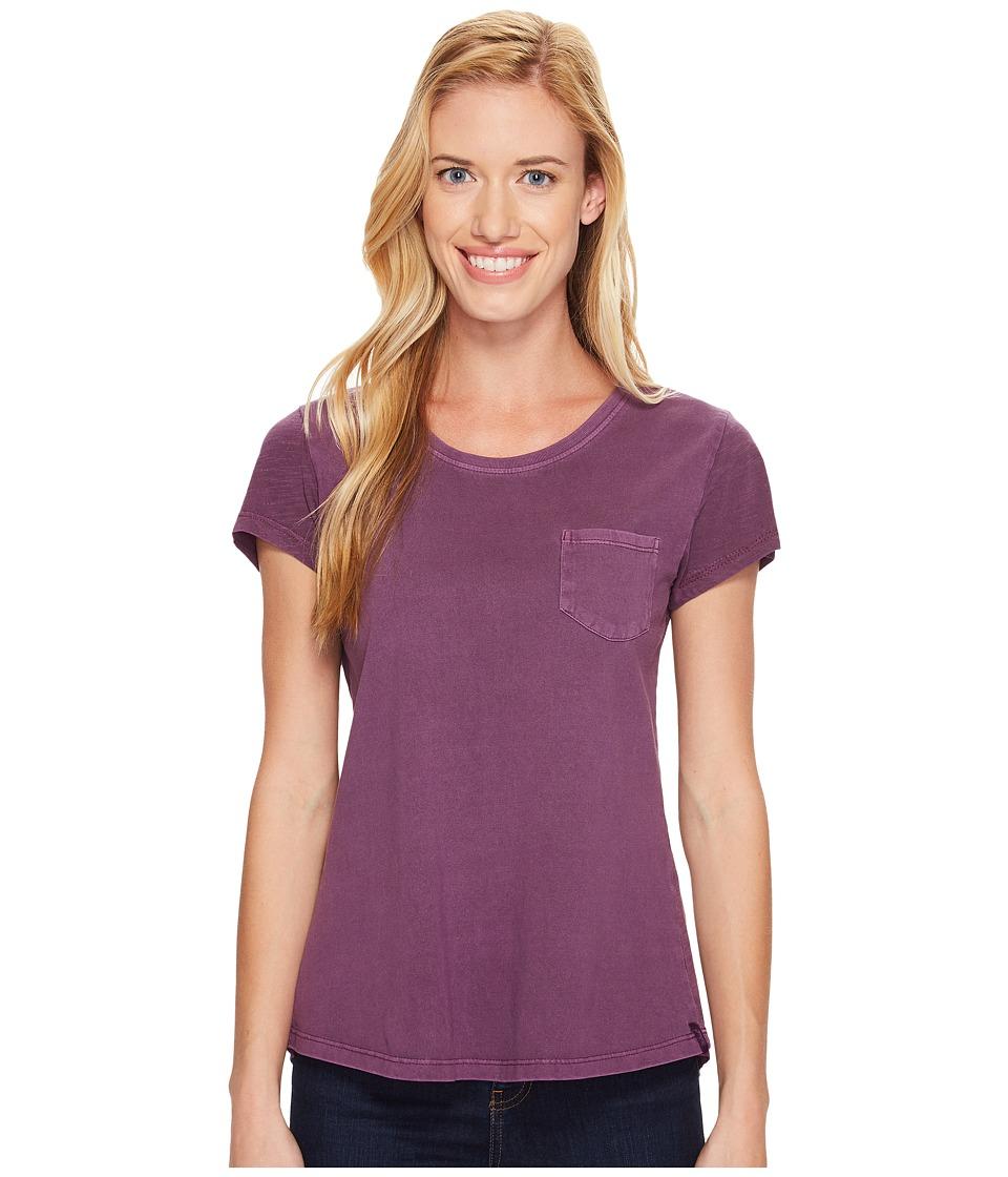 Woolrich - First Forks Short Sleeve Tee (Wisteria) Women's T Shirt