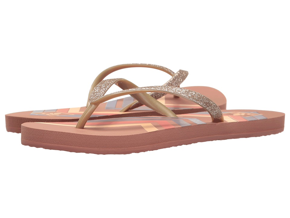 Reef - Stargazer Prints (Dusty Pink Chevron) Women's Sandals