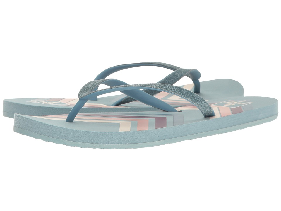Reef - Stargazer Prints (Blue Chevron) Women's Sandals