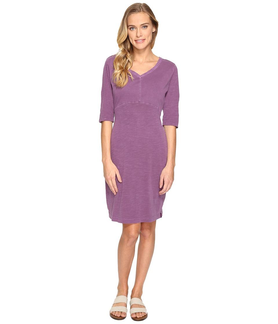 Woolrich - First Forks Convertible Sleeve Dress (Hydrangea) Women's Dress
