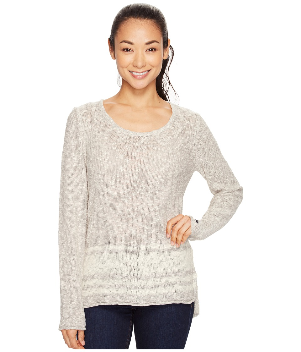 Columbia - Peaceful Feelin II Sweater (Flint Grey Stripe) Women's Sweater