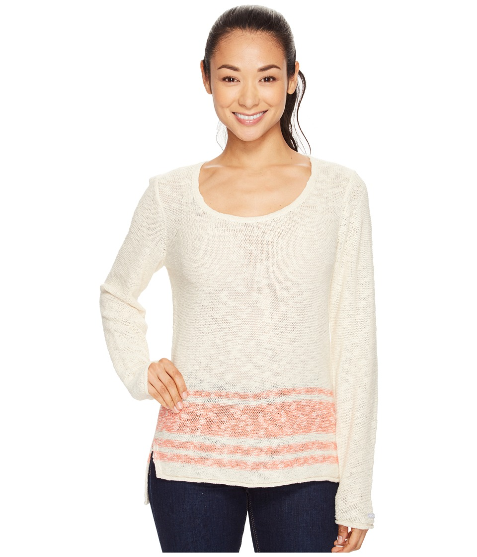 Columbia - Peaceful Feelin II Sweater (Lychee Stripe) Women's Sweater