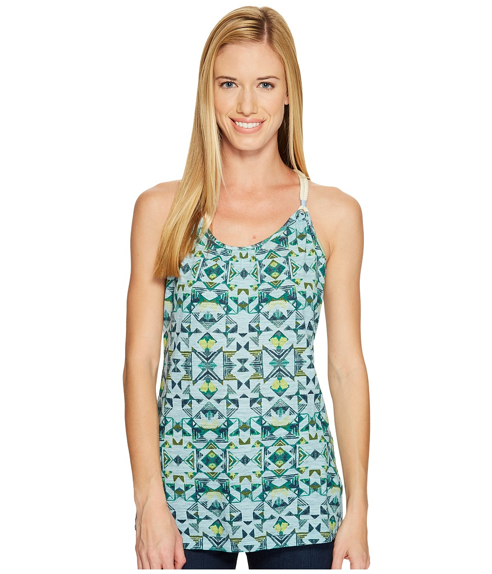 Woolrich - Bell Canyon Printed Tank Top (Blue Fog) Women's Sleeveless