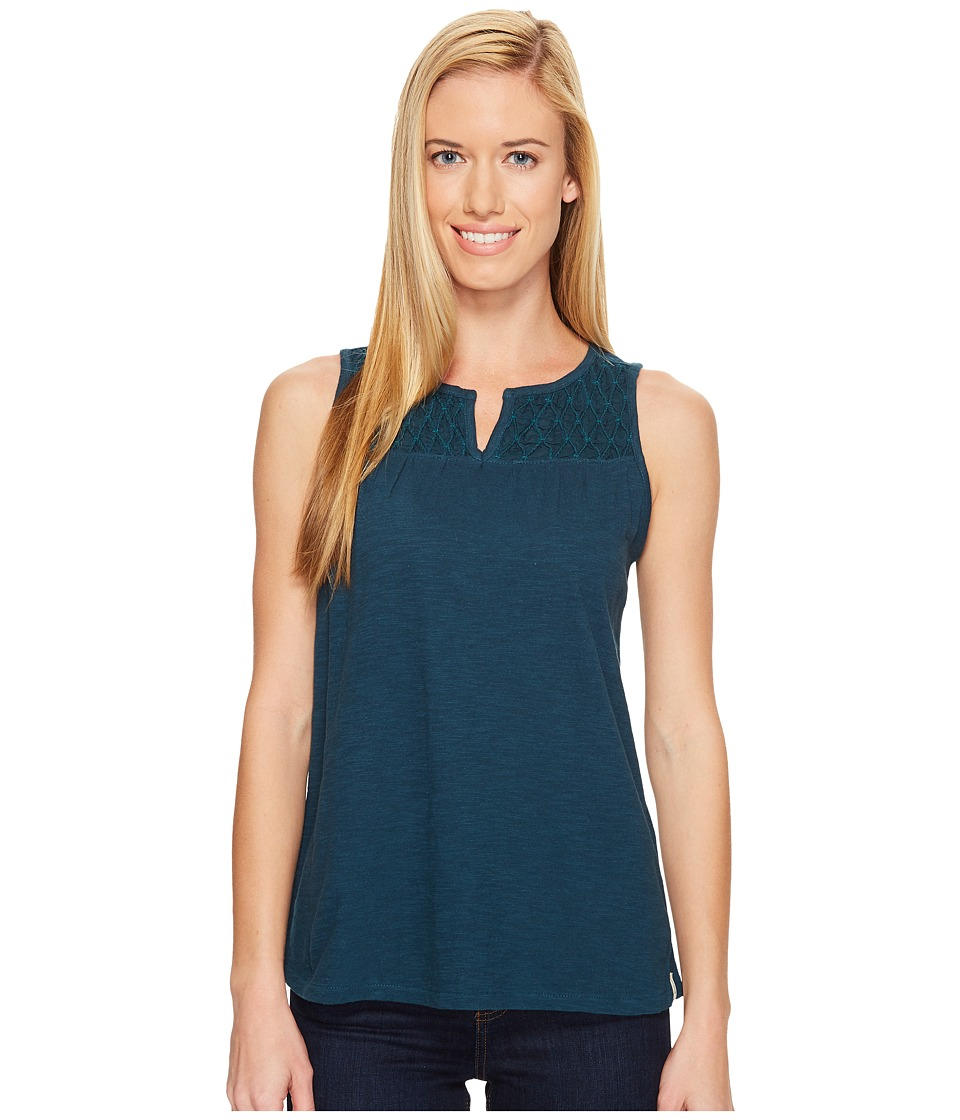 Woolrich - Bell Canyon Eco Rich Tank Top (Harbor) Women's Sleeveless