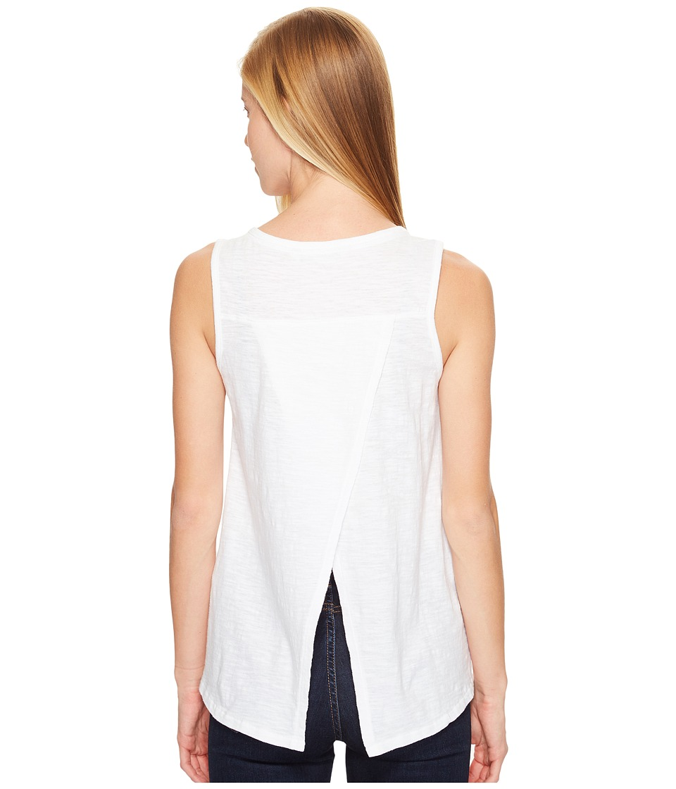 Woolrich - Bell Canyon Eco Rich Tank Top (White) Women's Sleeveless