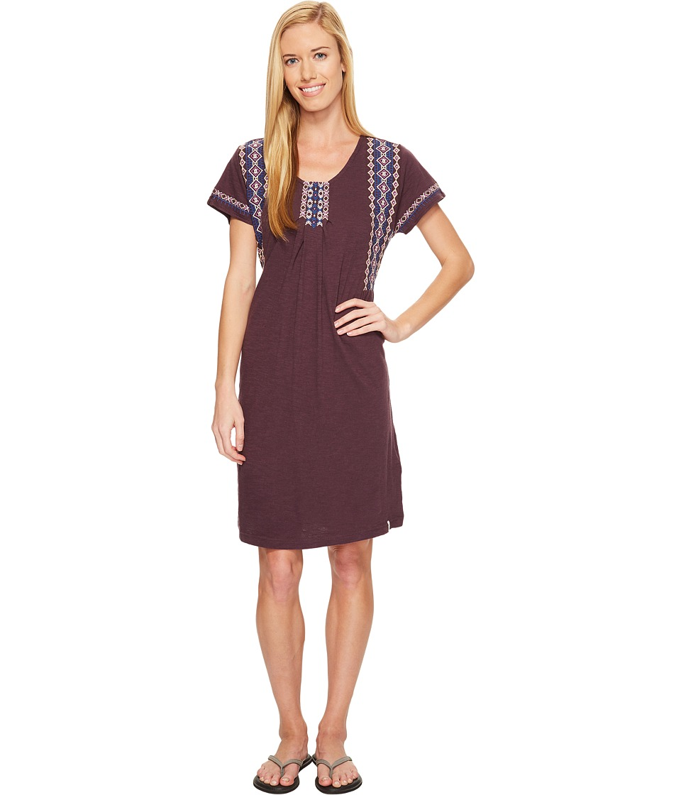 Woolrich - Bell Canyon Eco Rich Dress (Eggplant) Women's Dress