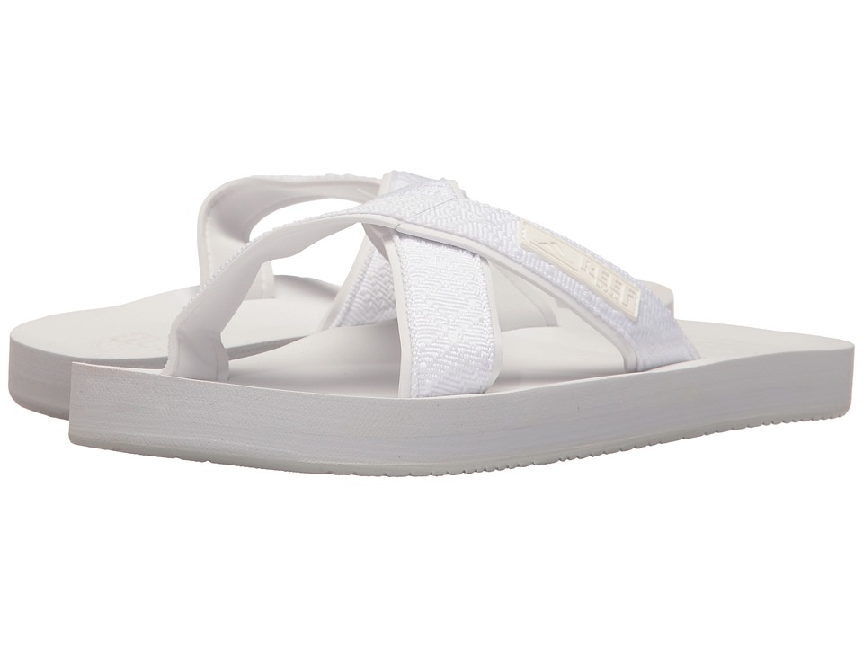 Reef - Crossover (White) Women's Sandals