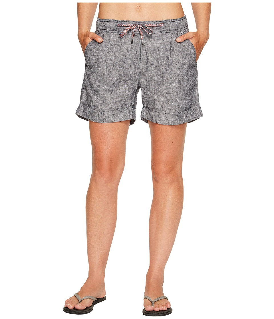 Woolrich - Outside Air Eco Rich Shorts (Navy) Women's Shorts
