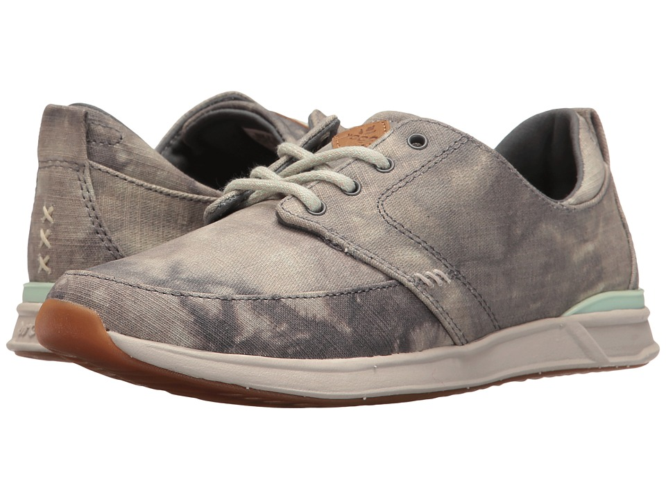 Reef - Rover Low TX (Grey/Silver) Women's Lace up casual Shoes