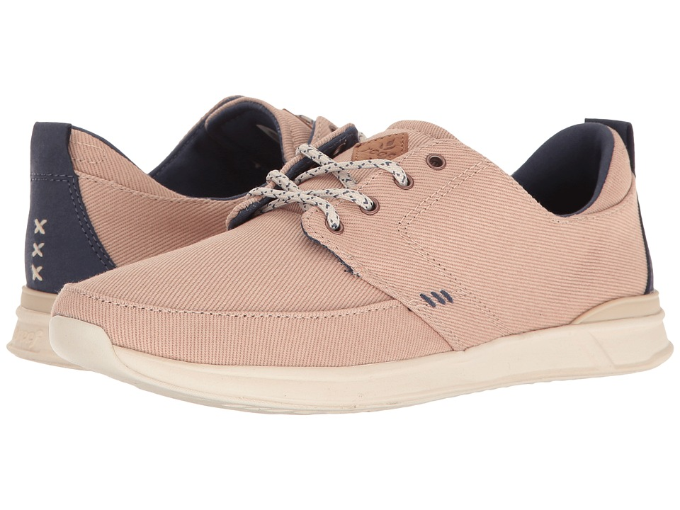 Reef - Rover Low (Cream) Women's Lace up casual Shoes