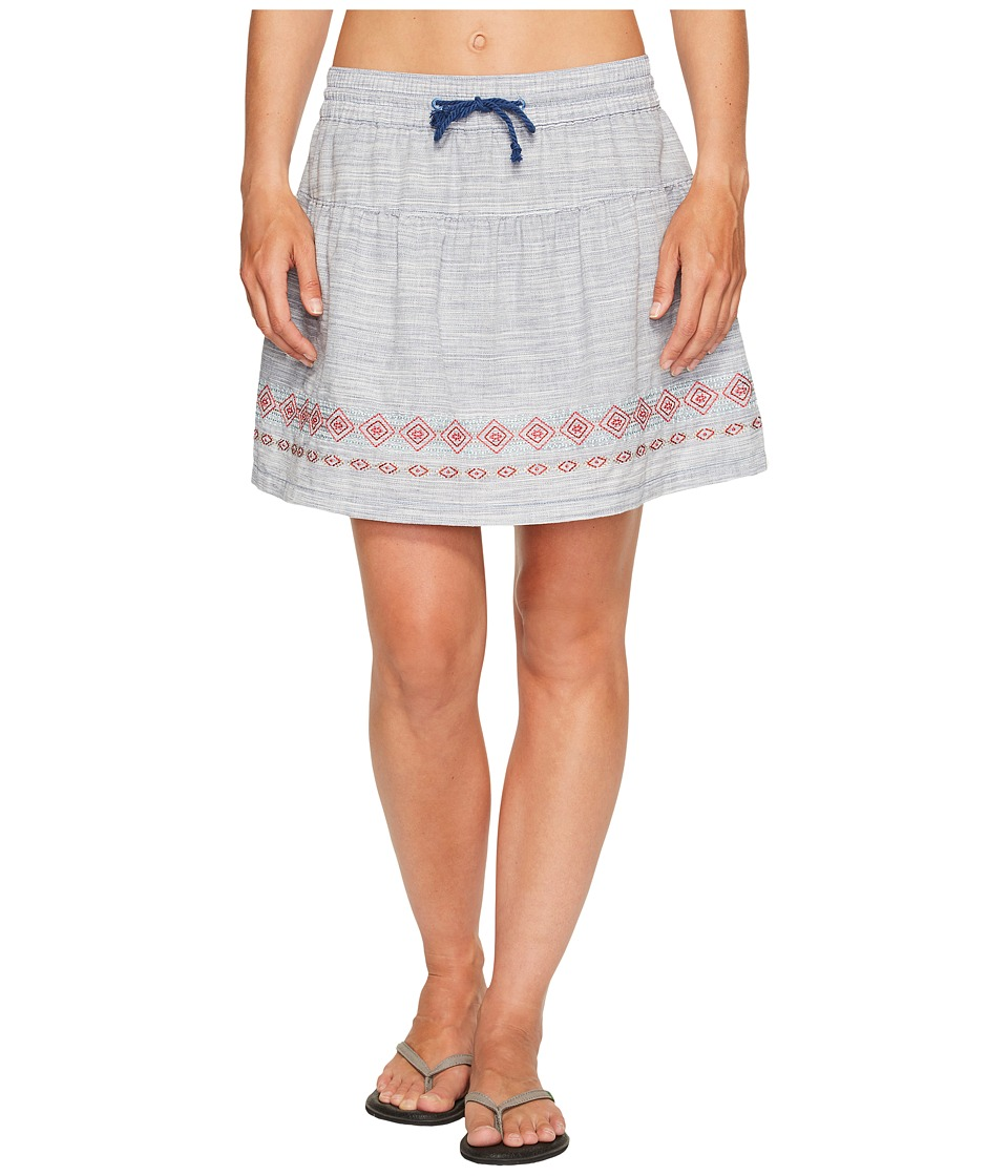 Woolrich - Outside Air Eco Rich Skort (New Royal Blue) Women's Skort