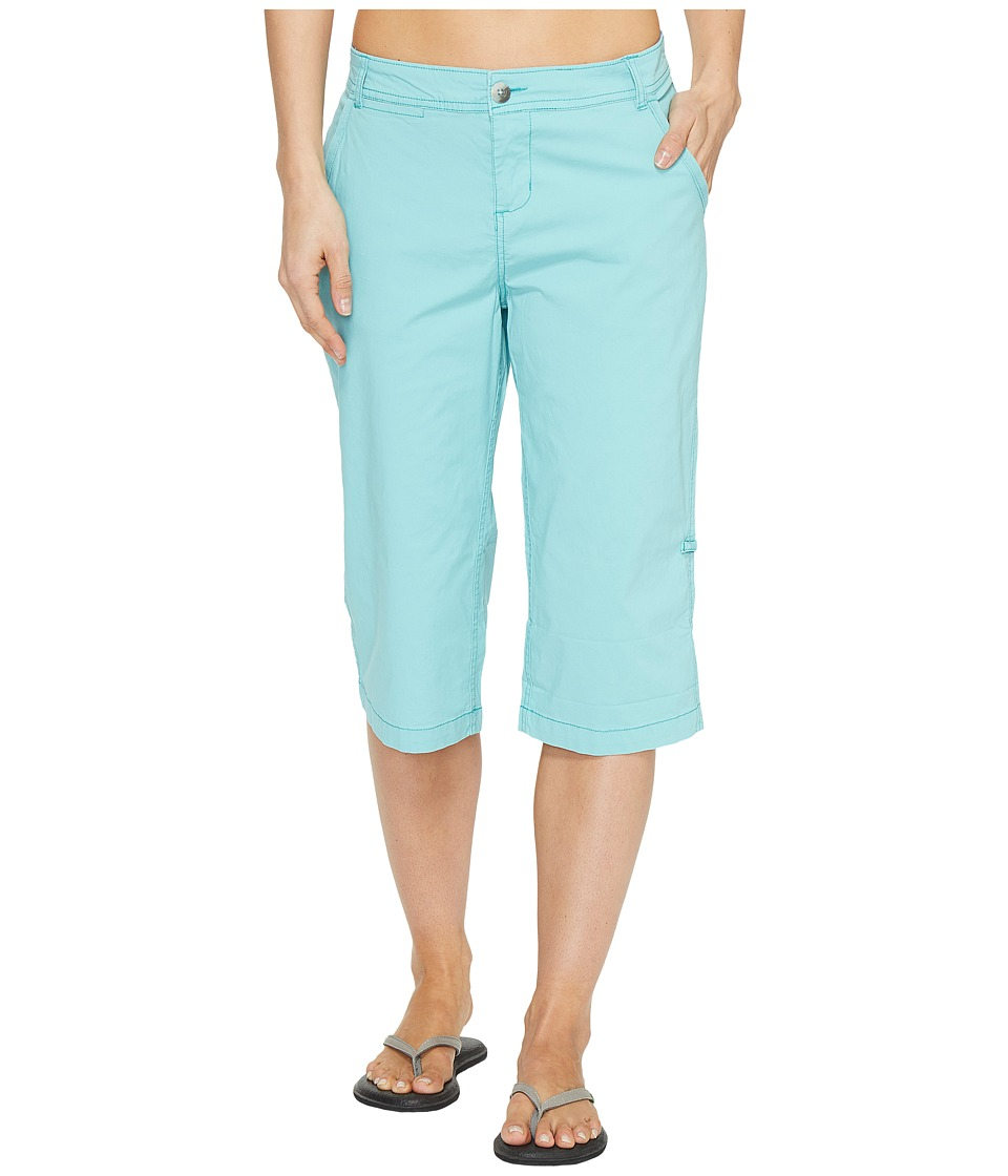 Woolrich - Vista Point Eco Rich Convertible Knee Pants (Sky Blue) Women's Casual Pants