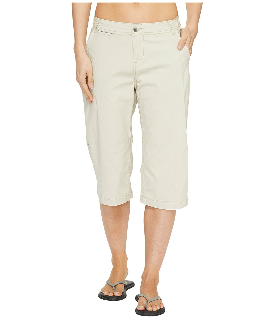 Woolrich - Vista Point Eco Rich Convertible Knee Pants (Stone) Women's Casual Pants