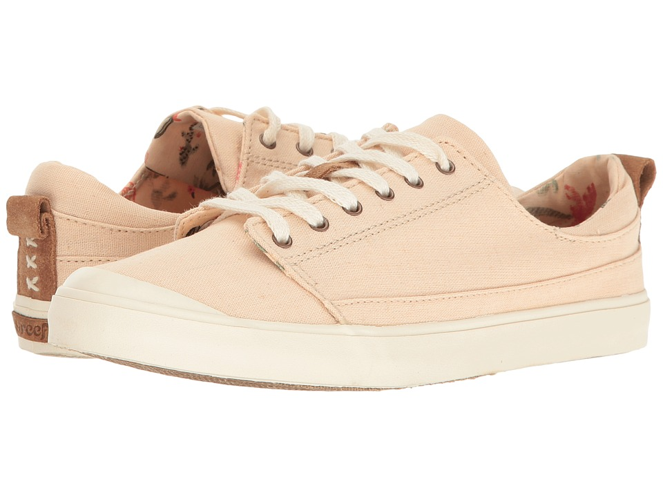 Reef - Walled Low (Ivory/Rose) Women's Lace up casual Shoes