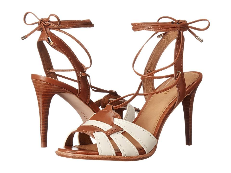 COACH - Kiara (Chalk/Saddle) High Heels