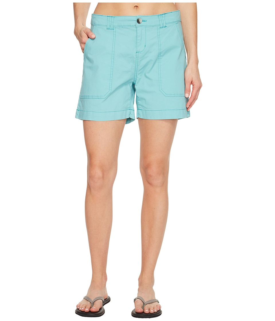 Woolrich - Vista Point Eco Rich Shorts (Sky Blue) Women's Shorts