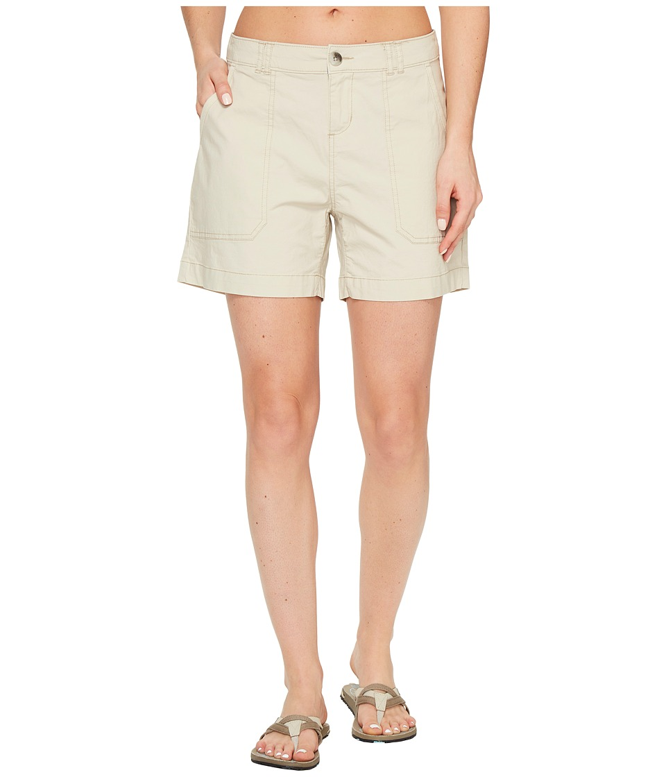 Woolrich - Vista Point Eco Rich Shorts (Stone) Women's Shorts