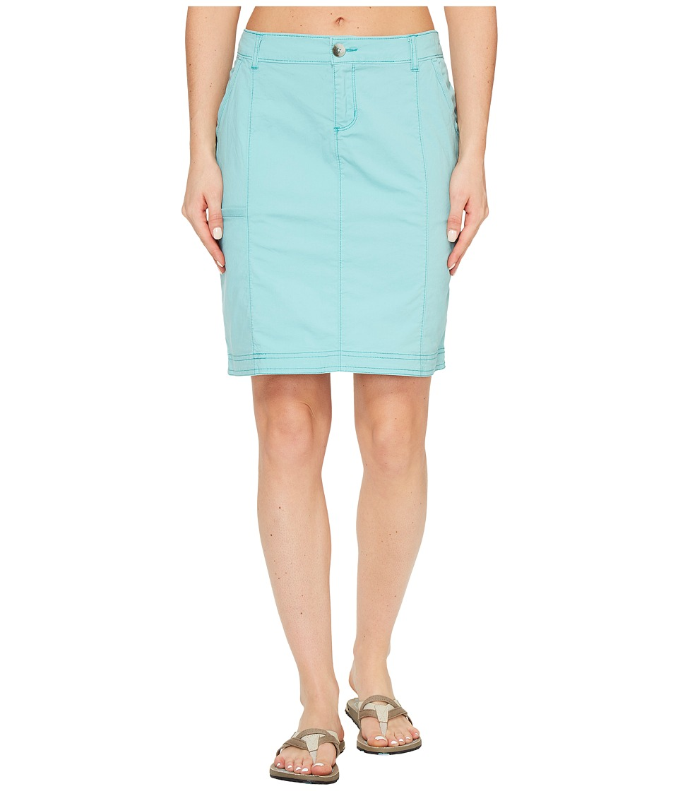 Woolrich Vista Point Eco Rich Skirt (Sky Blue) Women