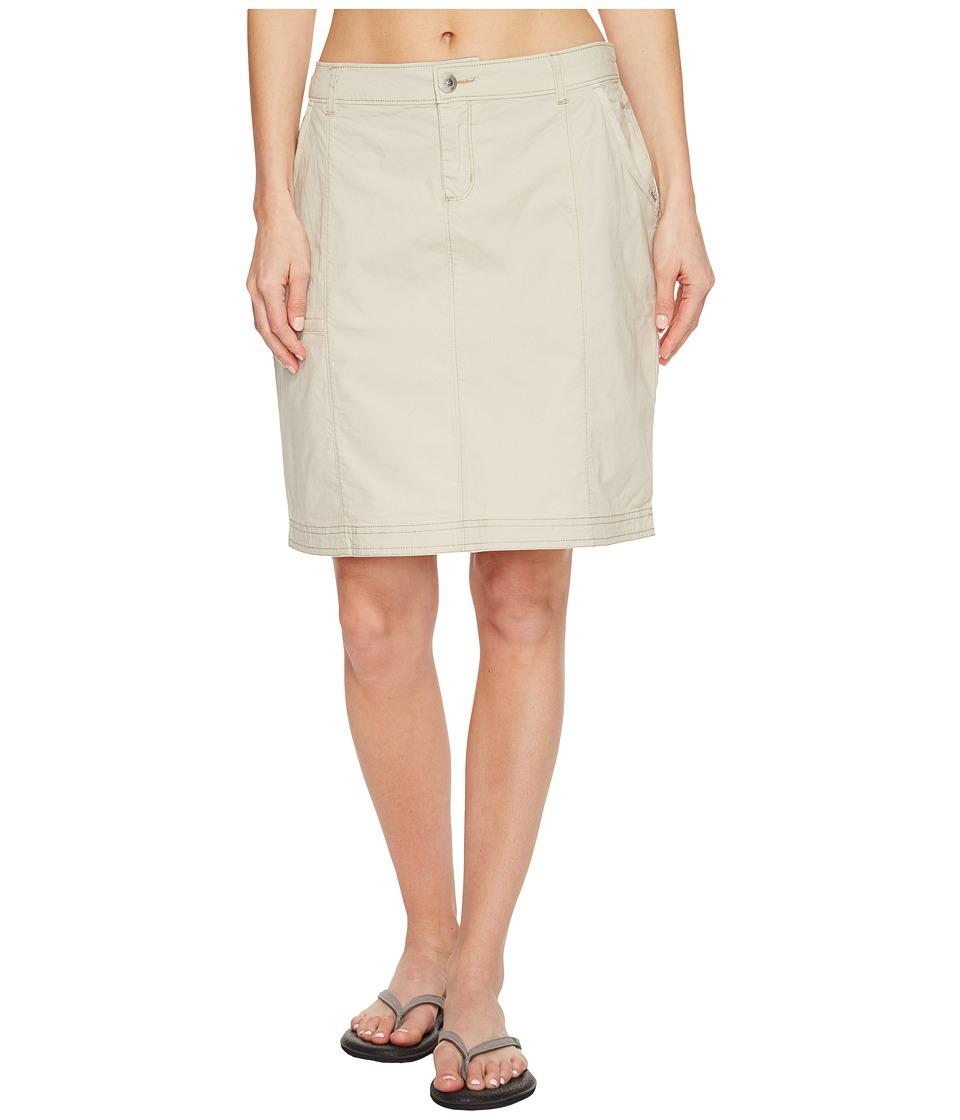 Woolrich - Vista Point Eco Rich Skirt (Stone) Women's Skirt