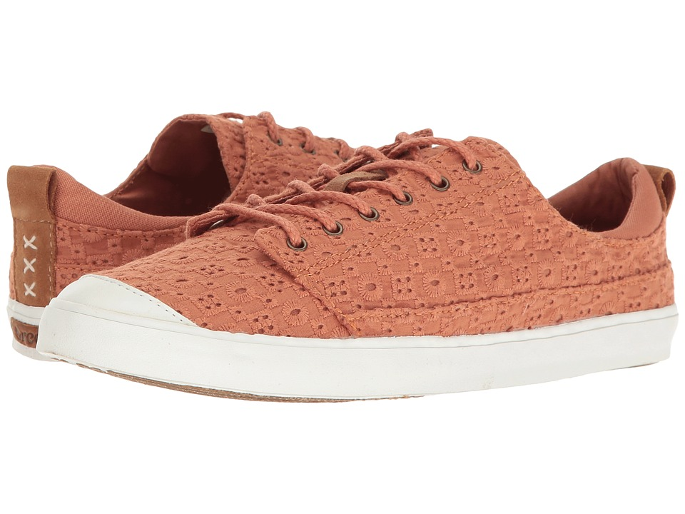 Reef - Walled Low TX (Rust) Women's Lace up casual Shoes