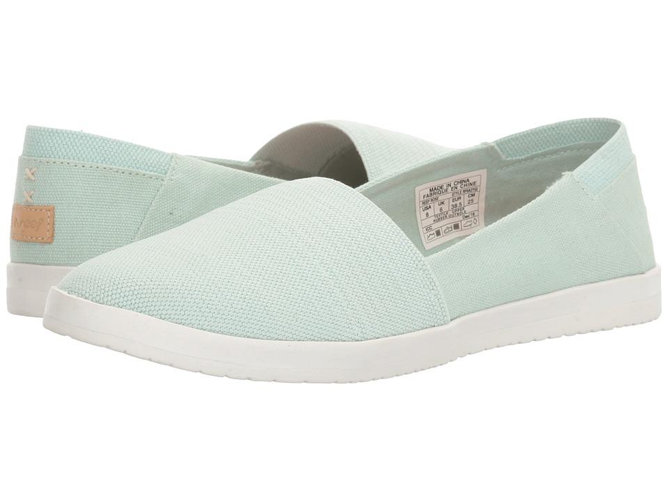 Reef - Rose (Mint) Women's Slip on Shoes