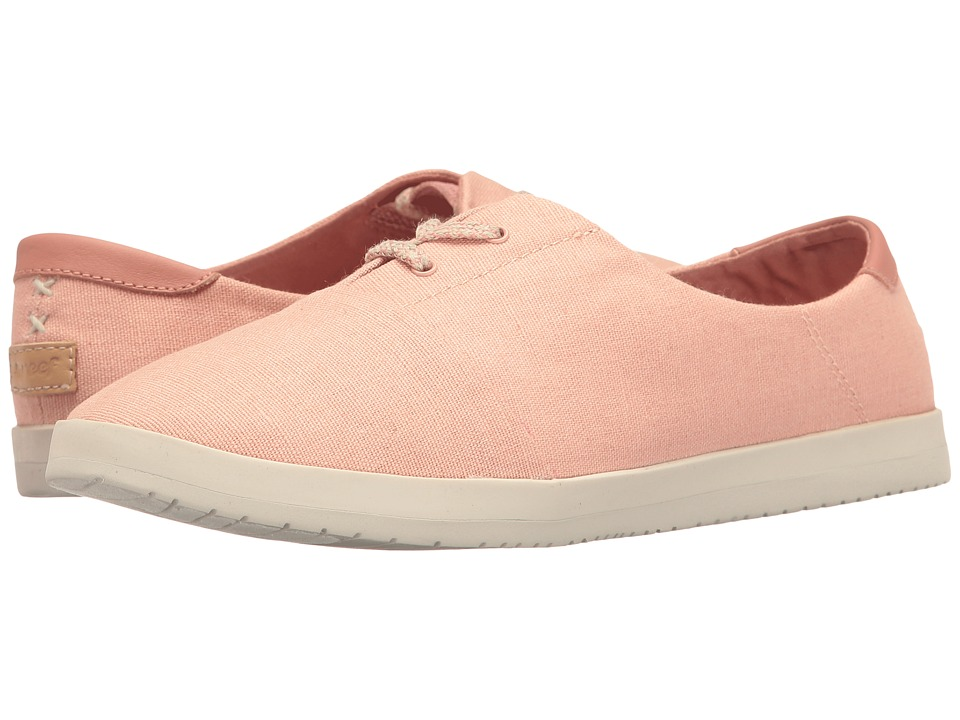 Reef - Pennington (Pink) Women's Lace up casual Shoes