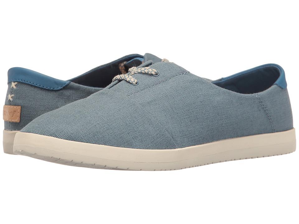 Reef - Pennington (Blue) Women's Lace up casual Shoes