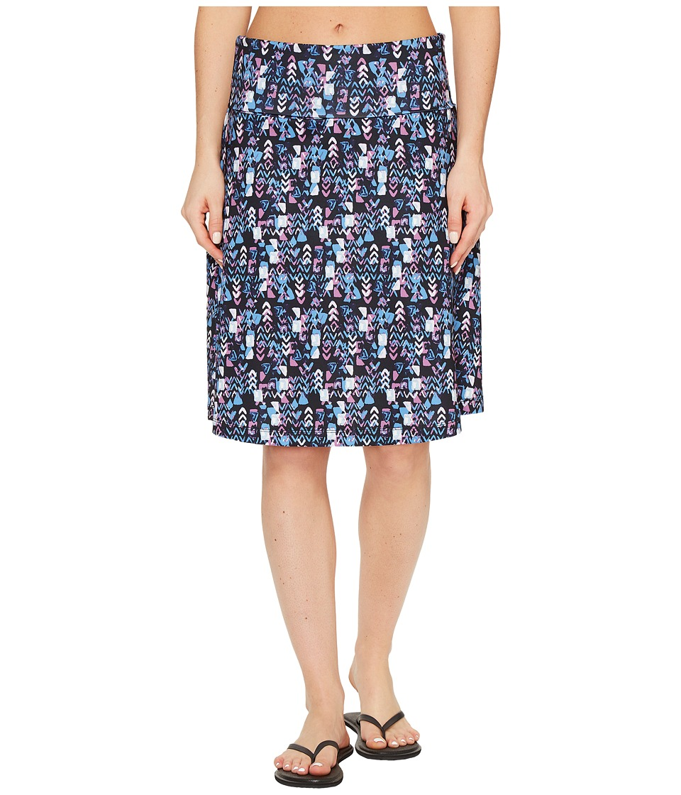 Woolrich - Rendezvous Printed Skirt (Navy) Women's Skirt
