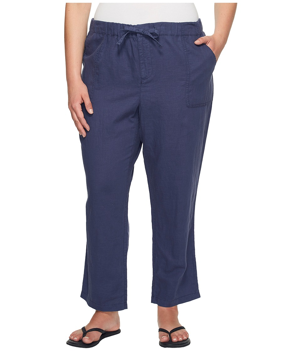 Columbia - Plus Size Coastal Escape Capri Pants (Nocturnal) Women's Capri