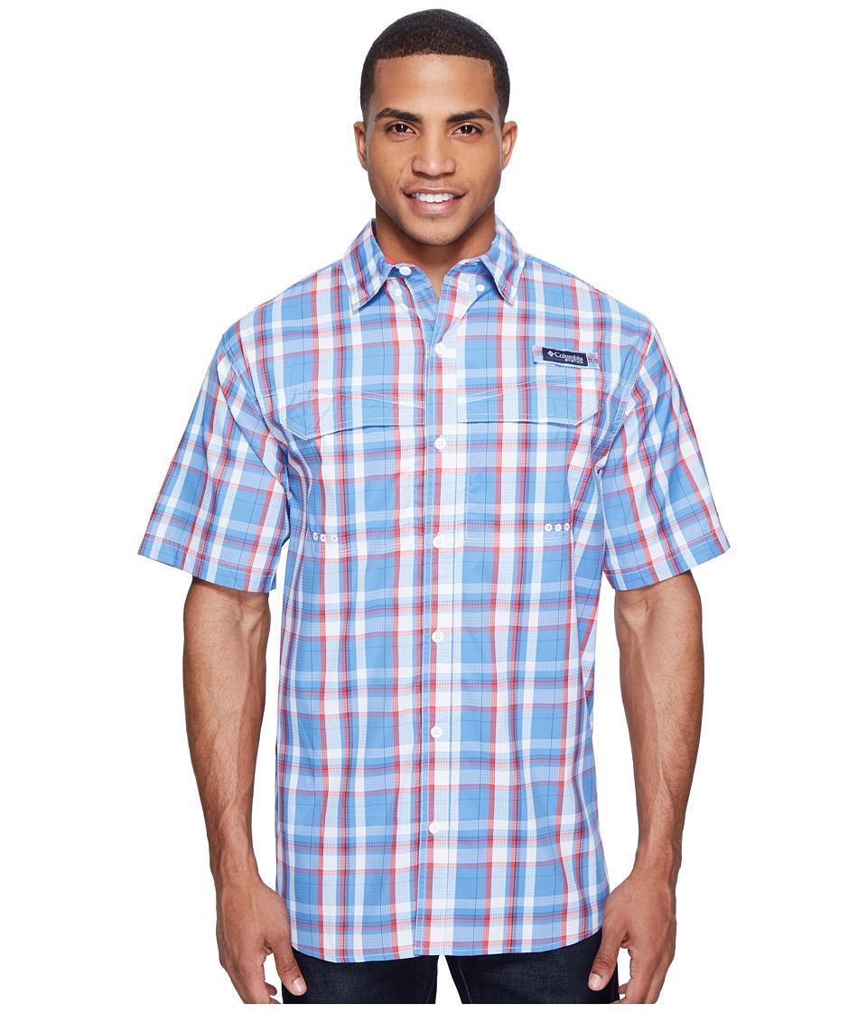 Columbia - Super Low Dragtm Short Sleeve Shirt (Skyler Multi Plaid) Men's Short Sleeve Button Up