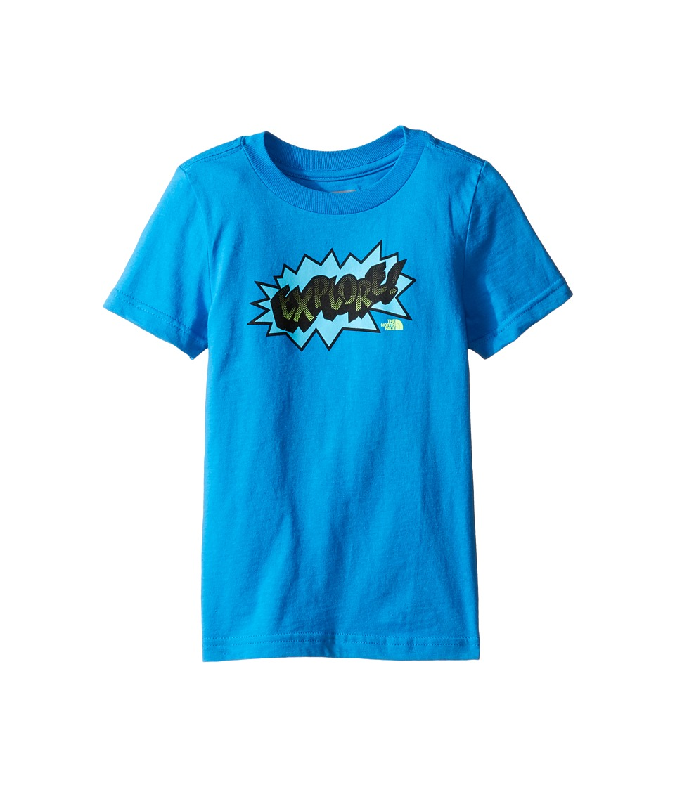 The North Face Kids - Short Sleeve Graphic Tee (Toddler) (Clear Lake Blue -Prior Season) Boy's T Shirt