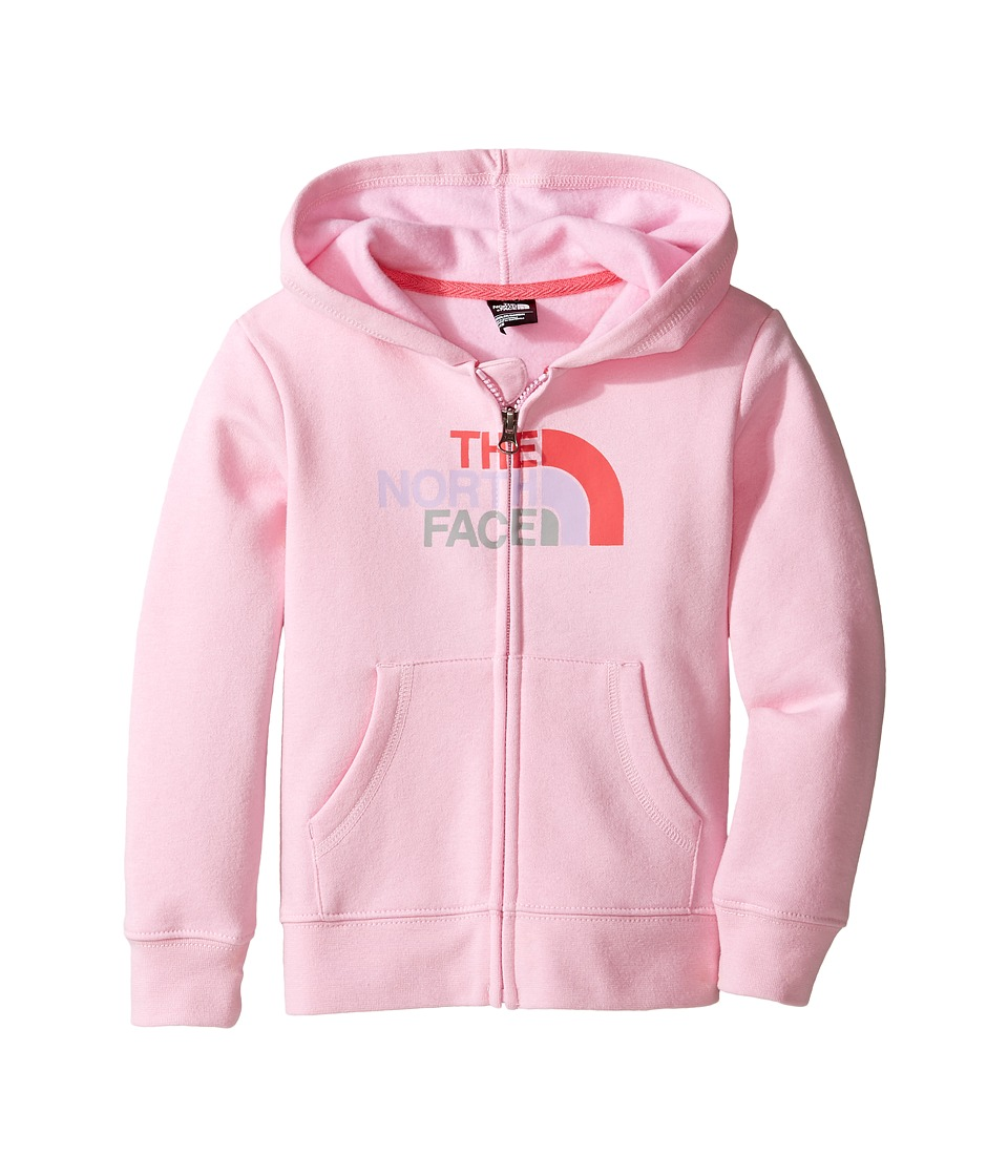 The North Face Kids - Logowear Full Zip Hoodie (Toddler) (Lilac Sachet Pink -Prior Season) Girl's T Shirt