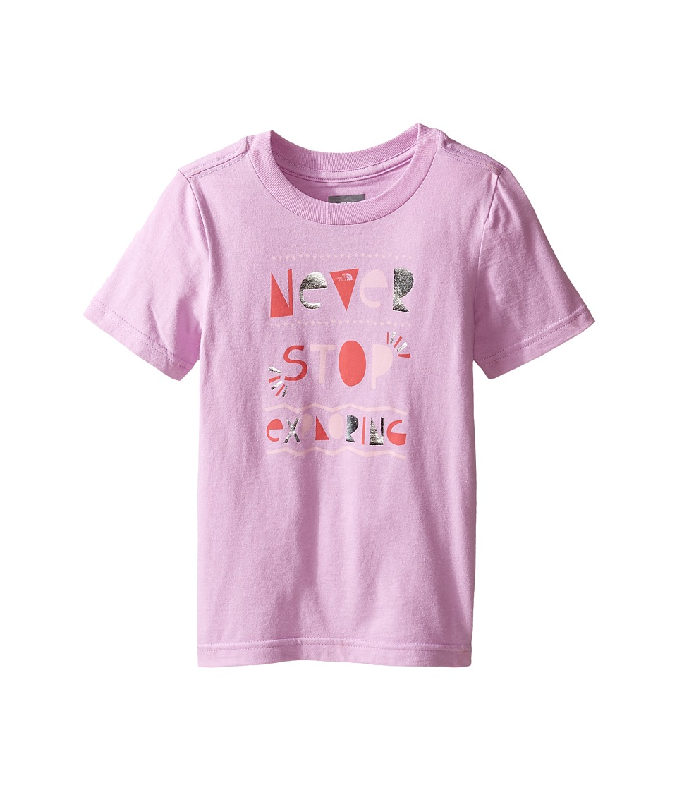 The North Face Kids - Short Sleeve Graphic Tee (Toddler) (Violet Tulle -Prior Season) Girl's T Shirt
