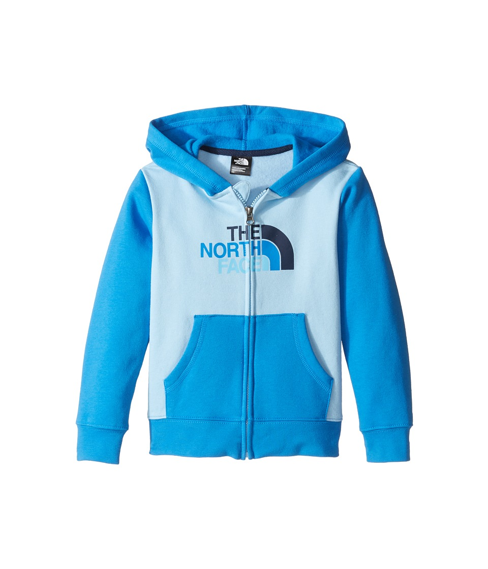 The North Face Kids - Logowear Full Zip Hoodie (Toddler) (Sky Blue -Prior Season) Boy's T Shirt