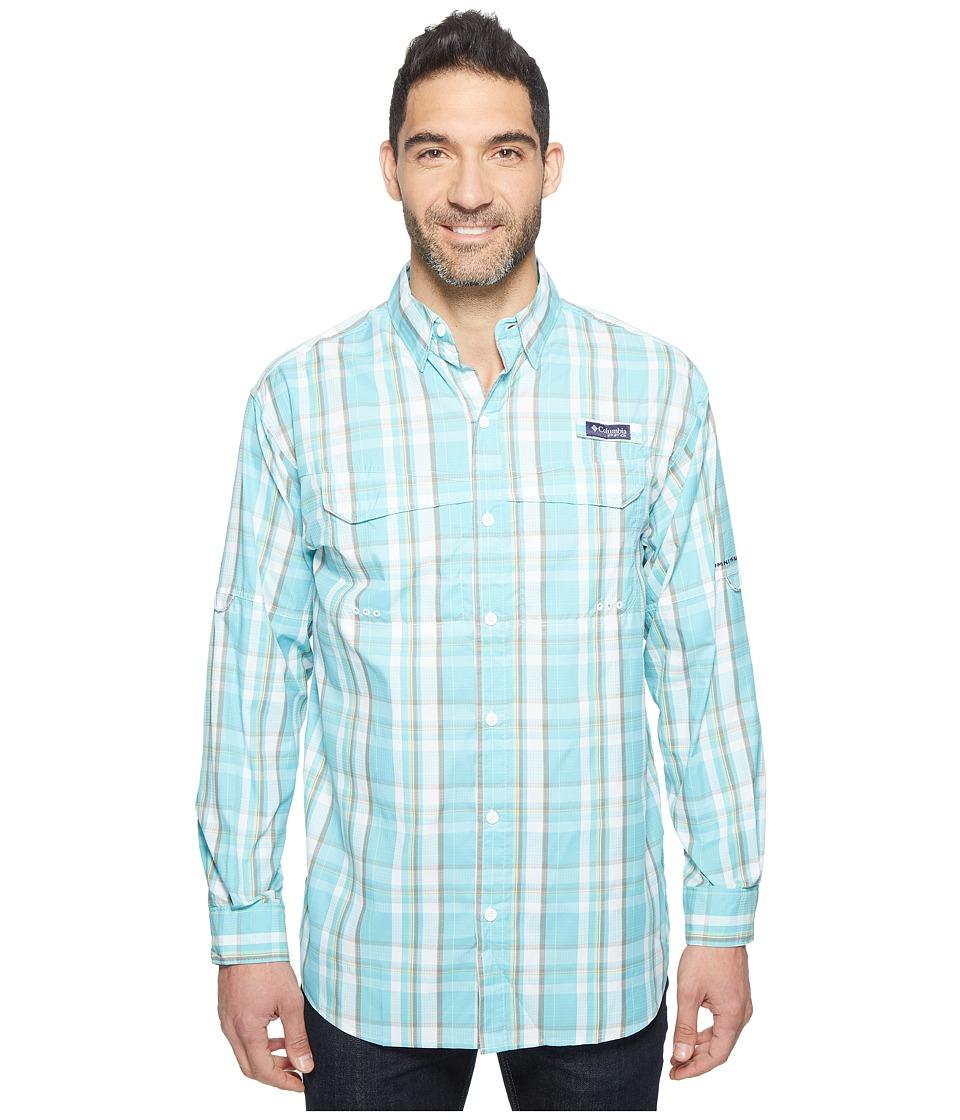 Columbia - Super Low Dragtm Long Sleeve Shirt (Moxie Multi Plaid) Men's Long Sleeve Button Up