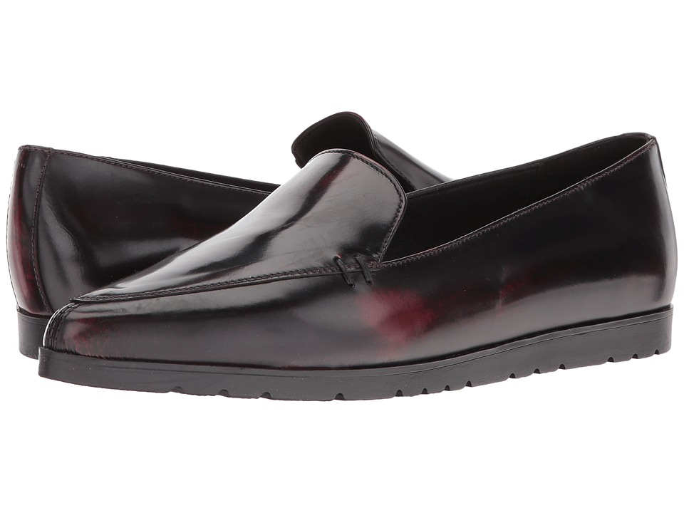 Shellys London - Korie (Burgundy) Women's Flat Shoes