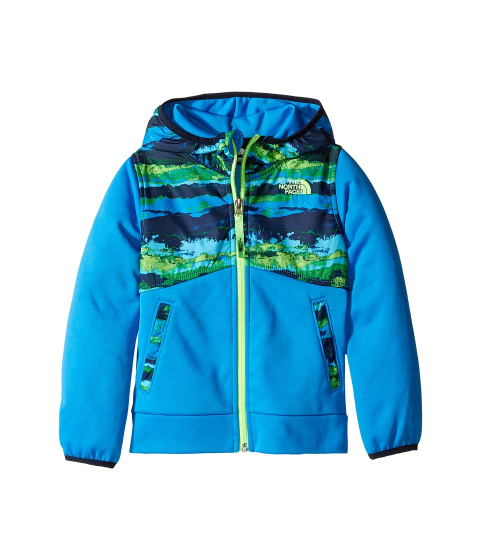 The North Face Kids - Kickin It Hoodie (Toddler) (Clear Lake Blue/Horizon Print/Clear Lake Blue -Prior Season) Boy's Sweatshirt