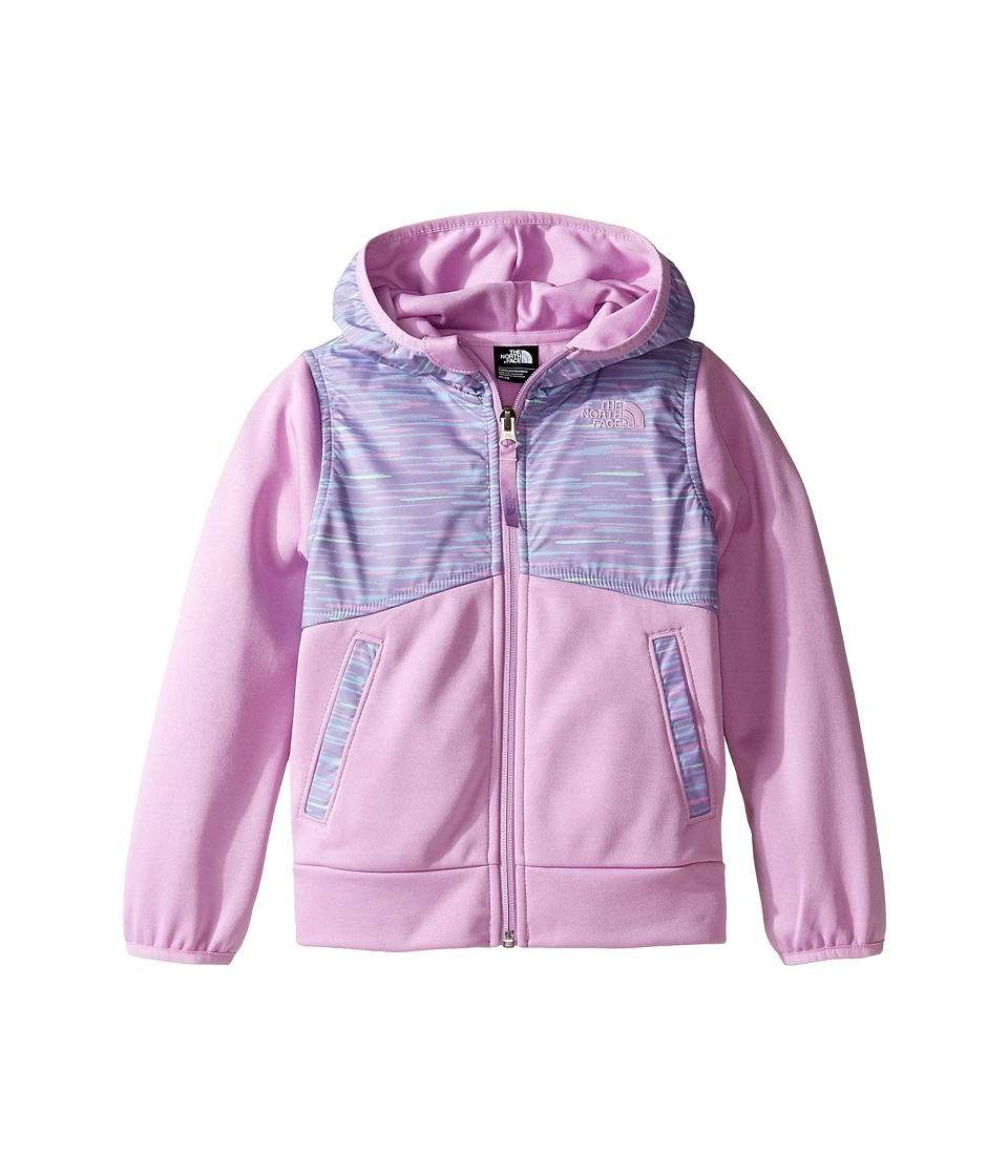 The North Face Kids - Kickin It Hoodie (Toddler) (Paisley Purple Print/Violet Tulle -Prior Season) Girl's Sweatshirt