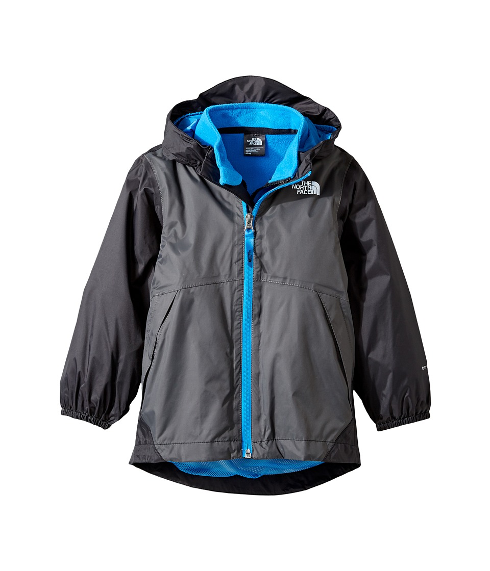 The North Face Kids - Stormy Rain Triclimate(r) Jacket (Toddler) (Graphite Grey/TNF Black -Prior Season) Boy's Coat
