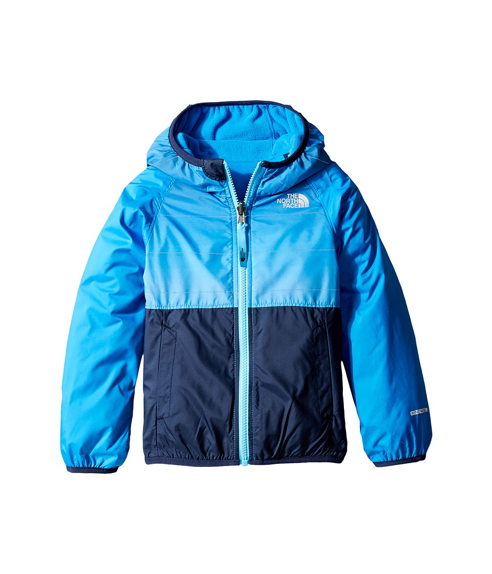 The North Face Kids - Reversible Breezeway Wind Jacket (Toddler) (Clear Lake Blue -Prior Season) Boy's Coat