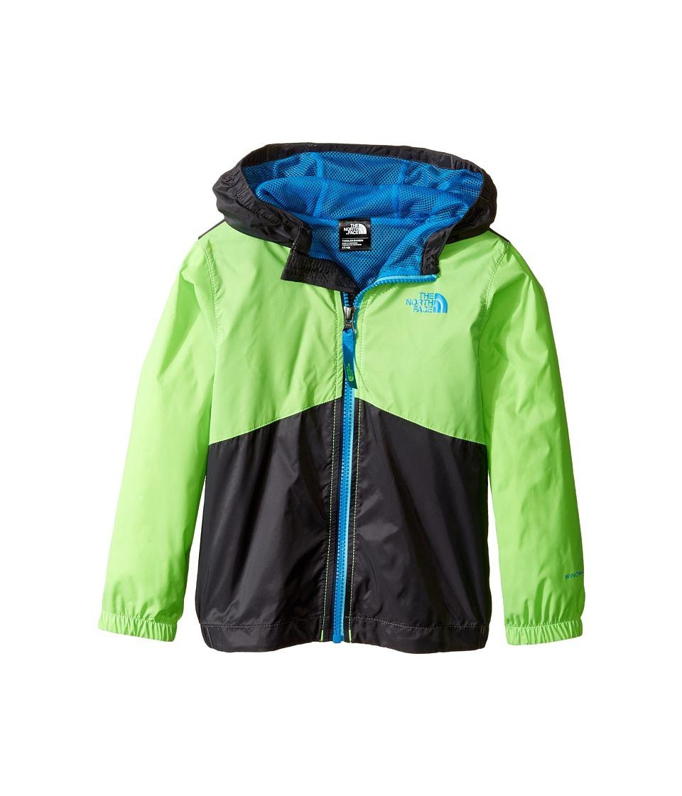 The North Face Kids - Flurry Wind Hoodie (Toddler) (Power Green/Graphite Grey -Prior Season) Boy's Sweatshirt