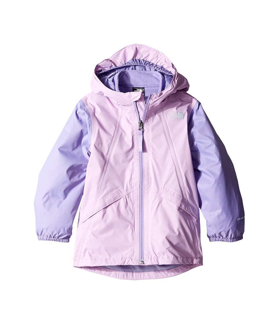 The North Face Kids Stormy Rain Triclimate(r) Jacket (Toddler) (Violet Tulle/Paisley Purple -Prior Season) Girl