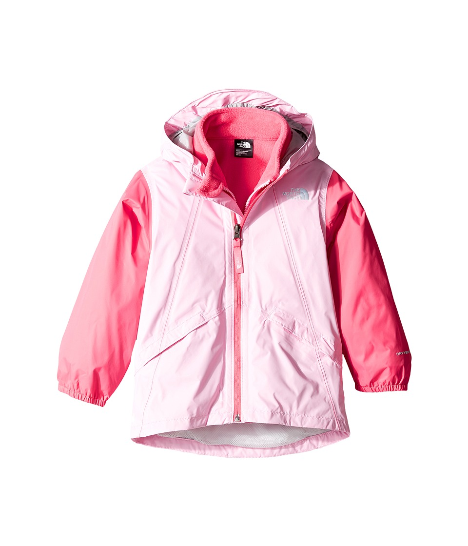 The North Face Kids - Stormy Rain Triclimate(r) Jacket (Toddler) (Lilac Sachet Pink/Honeysuckle Pink -Prior Season) Girl's Coat