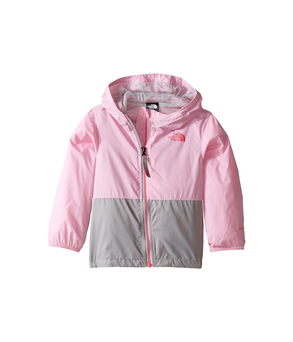 The North Face Kids - Flurry Wind Hoodie (Infant) (Lilac Sachet Pink/Metallic Silver -Prior Season) Kid's Coat