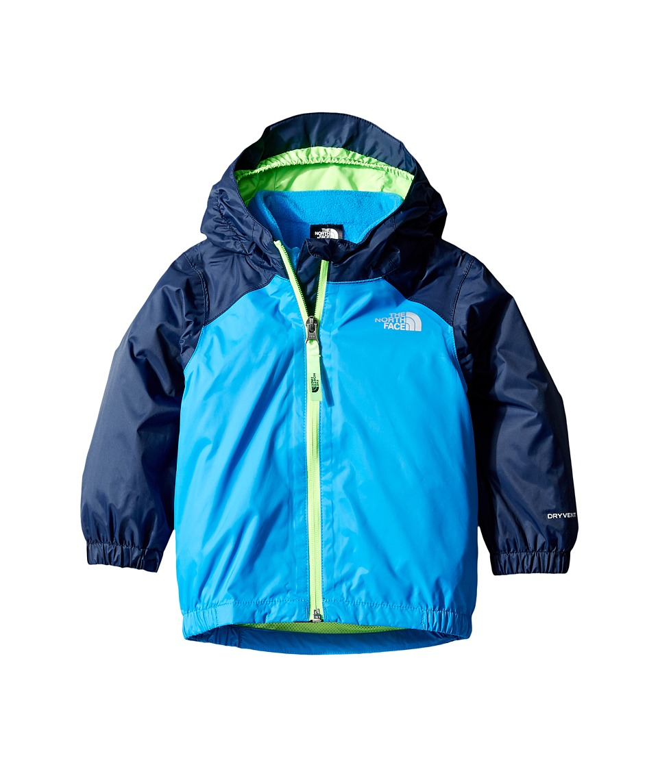 The North Face Kids - Stormy Rain Triclimate (Infant) (Clear Lake Blue/Cosmic Blue/Power Green -Prior Season) Kid's Coat