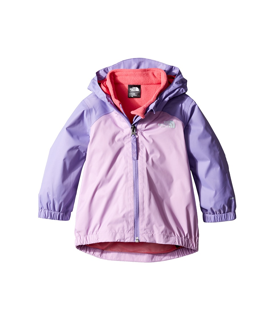 The North Face Kids - Stormy Rain Triclimate (Infant) (Violet Tulle/Paisley Purple -Prior Season) Kid's Coat